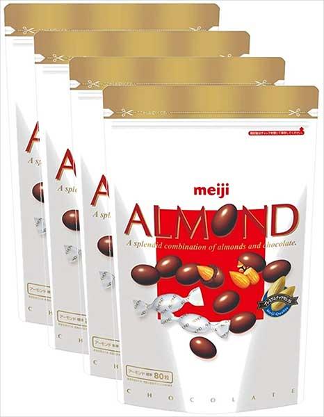 【明治】アーモンドチョコレート大容量パウチ 336g