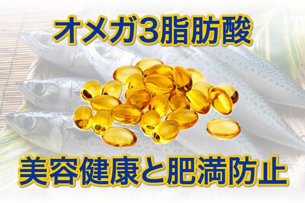 肥満防止 美容健康[オメガ3:DHA / EPA・αリノレン酸]