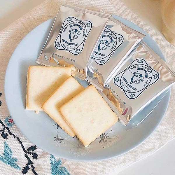 【東京ミルクチーズ工場】ソルト&カマンベールクッキー